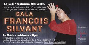 Le Gala Silvant, le 7 septembre 2017